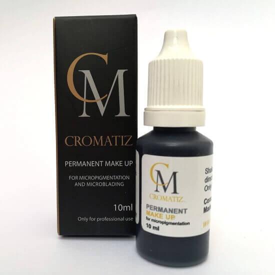 Color black micropigmentacion pigmentos cromatiz cromatiz.com